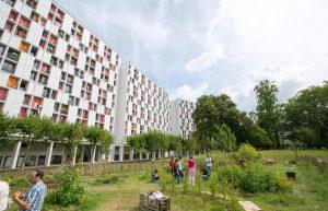 Jardin des résidences Breuer Aire de paix et de partage