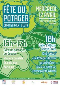 Fête du potager, Bayonne, 12 avril 2017